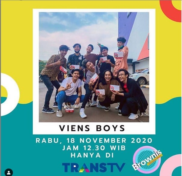 Viens Boy Masuk Trans TV