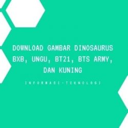 Download Gambar Dino BxB, Ungu, BT21, BTS Army, dan Kuning