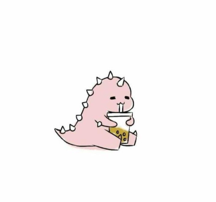 Gambar Dino Merah Untuk PP WA Viral