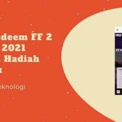 Kode Redeem FF 2 Januari 2021 Terbaru Hadiah Menarik