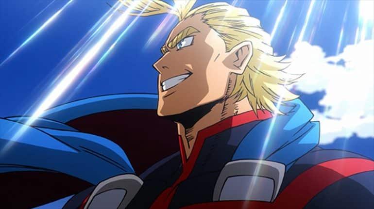 All Might - Anime Boku no Hero Academia