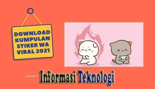 Download Kumpulan Stiker WhatsApp (WA) Viral 2021