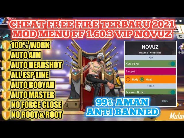 Download Novuz FF APK (Free Fire) Versi Terbaru 2021 Work