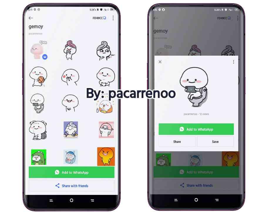 Download Stiker WhatsApp Pentol Gemoy