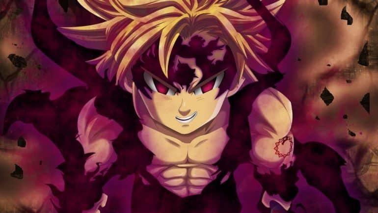 Kapten Meliodas - Anime Nanatsu no Taizai
