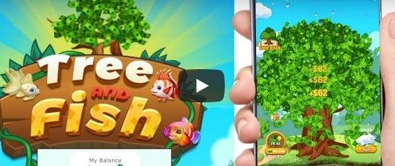 Aplikasi Tree And fish Game Penghasil Uang